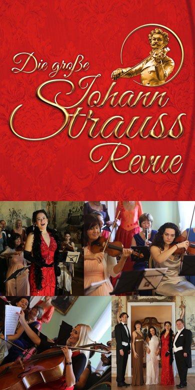 Die große Johann Strauss Revue Banner