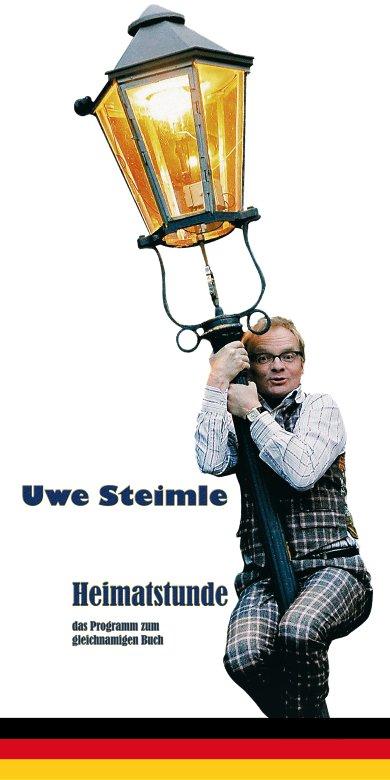 """Uwe Steimle """"Heimatstunde"""" Banner"""