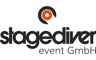 Logo stagediver event gmbH